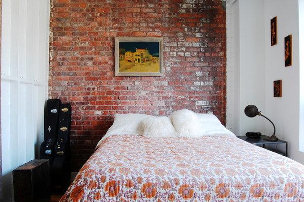 Industrial Bedroom by Corynne Pless