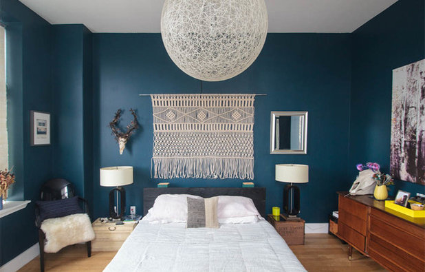 Eclectic Bedroom by Sarah Seung-McFarland