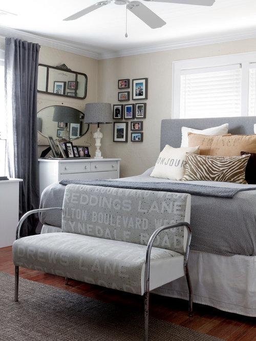 Dark Gray Master Bedroom Design Ideas Remodel Pictures Houzz