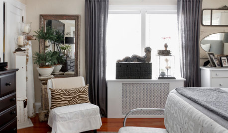 How to Cover Windows Above a Radiator