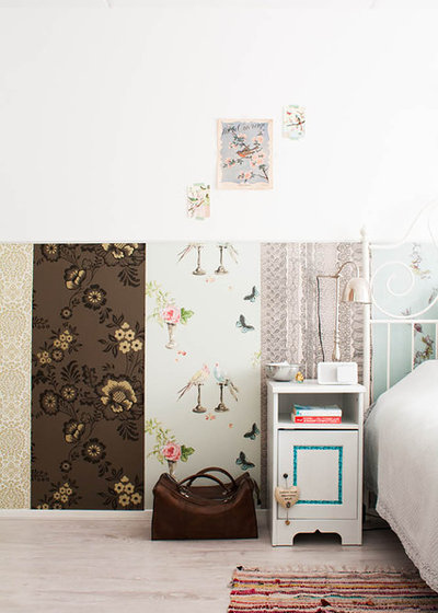 Shabby-Chic Style Bedroom by Louise de Miranda