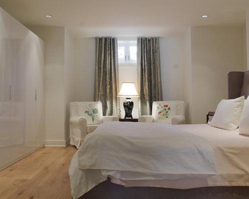 Trendy Bedroom Photo In Montreal