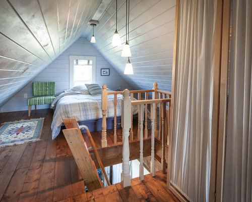 small attic bedroom houzz