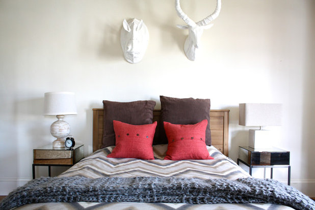 Transitional Bedroom by Shannon Malone