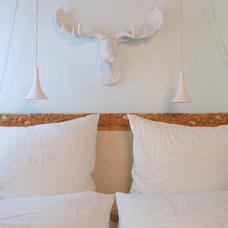 Traditional Bedroom by Sara Bates