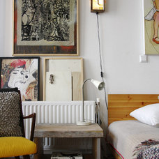 Eclectic Bedroom by Holly Marder