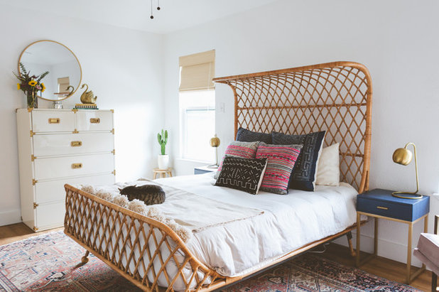 Eclectic Bedroom by Heather Banks