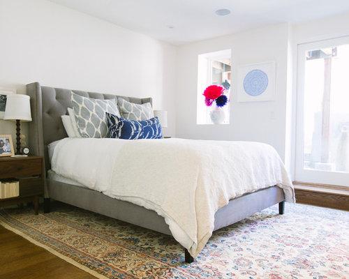 Master Bedroom Upholstered Headboard upholstered bed master bedroom | houzz