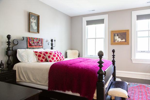 Transitional Bedroom by Rachel Loewen Photography