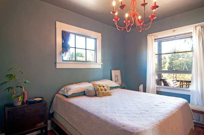 Eclectic Bedroom by Louise Lakier