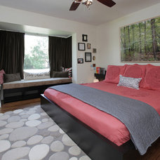 Contemporary Bedroom by Lindsay von Hagel