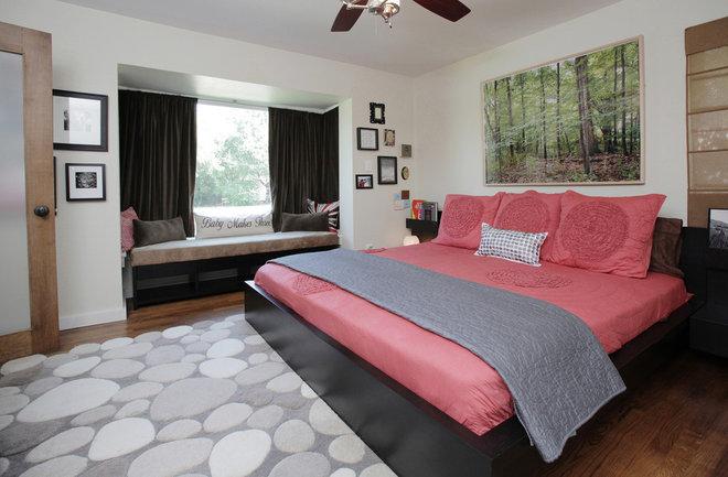 Transitional Bedroom by Lindsay von Hagel