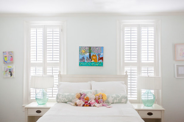 Tropical Bedroom by Margaret Wright Photography