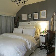 Farmhouse Bedroom by Jenn Hannotte / Hannotte Interiors