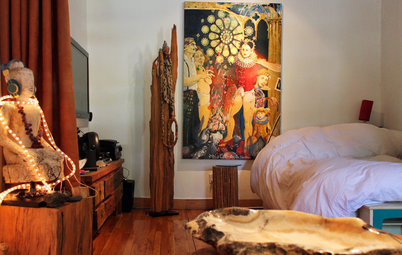 My Houzz: Urban Goes Exotic in a Montreal Artist's Home