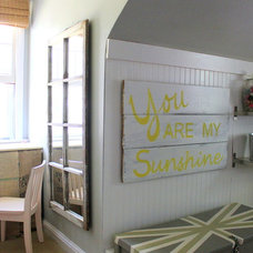 Farmhouse Bedroom by Sara Bates