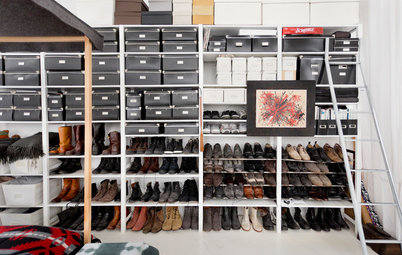 Personal Spaces: 12 Real-Life Savvy Shoe Storage Ideas