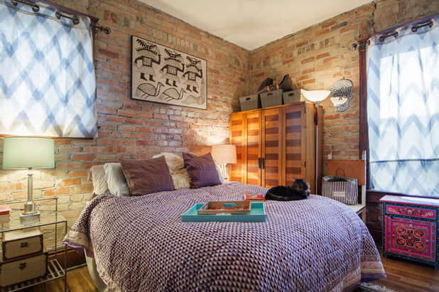 Eclectic Bedroom by Lucy Call