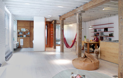 My Houzz: White and Bright Transformation of a Central London Loft