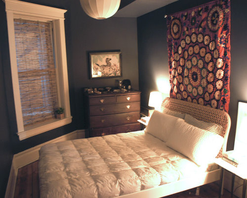 Suzani tapestry home design ideas pictures remodel and decor - Bedroom ideas in small spaces paint ...