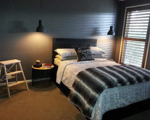Industrial Melbourne Bedroom Design Ideas Renovations