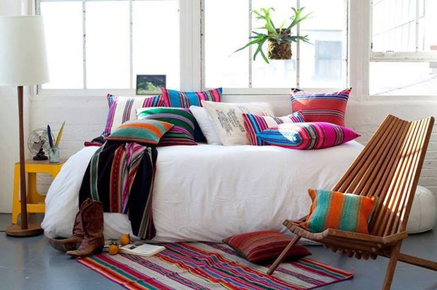 Éclectique Chambre by New World African Interior Design