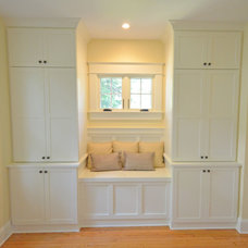 Transitional Bedroom by FitzHarris Designs