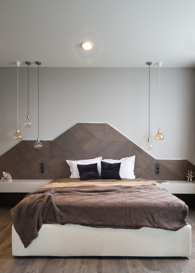 Современный Спальня by Hovanskaya Olga