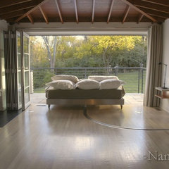 modern bedroom by NanaWall