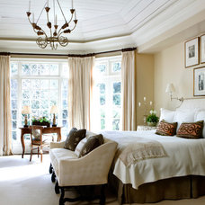 Traditional Bedroom by Tammy Connor Interior Design