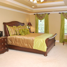 Transitional Bedroom by Distinctive Designs by Nicole, LLC