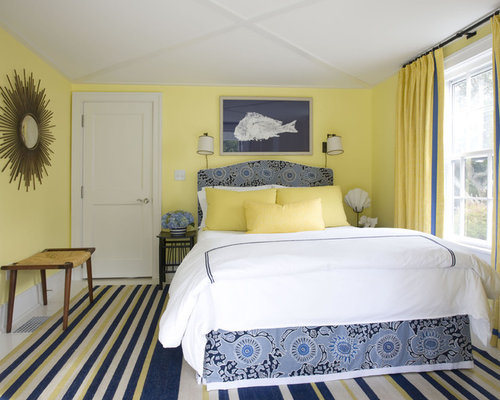 blue and yellow | houzz