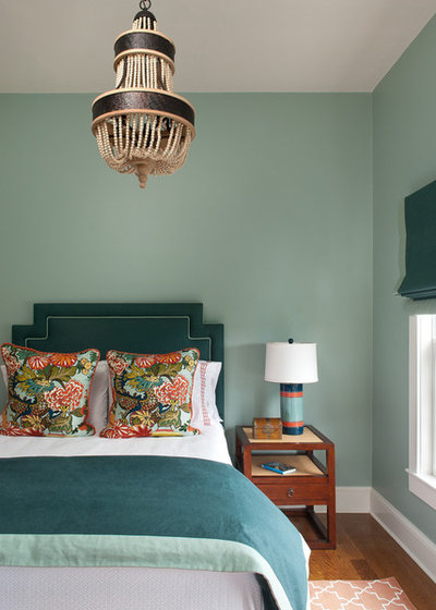 Coastal Bedroom by Ben Gebo Photography