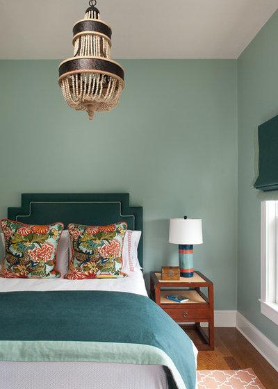 ビーチスタイル ベッドルーム by Ben Gebo Photography