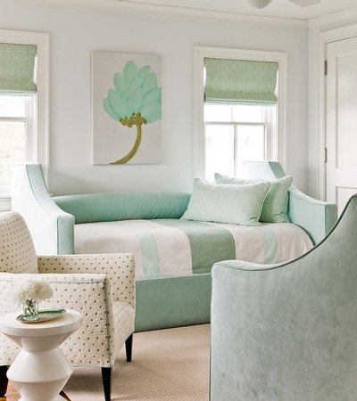 Transitional Bedroom by Eric Roseff Designs