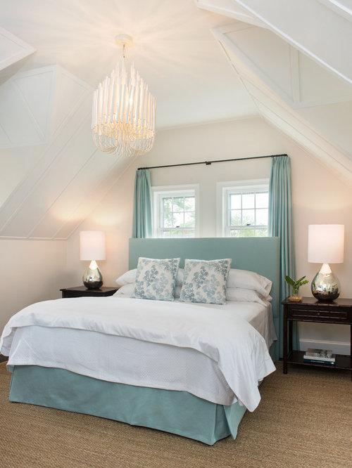 chambre d 39 amis bord de mer de taille moyenne photos et id es d co de chambres d 39 amis. Black Bedroom Furniture Sets. Home Design Ideas