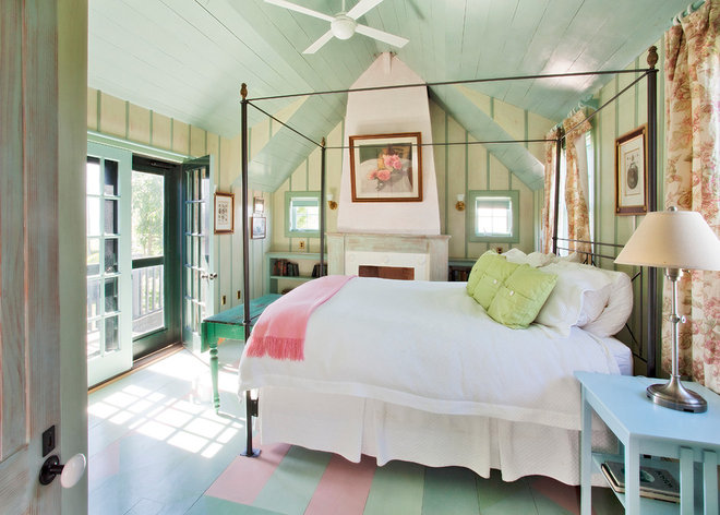 Beach Style Bedroom by Nantucket Architecture Group Ltd.