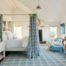 Beach Style Bedroom by Gary McBournie Inc.