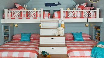 Nantucket Style Nautical Bunk