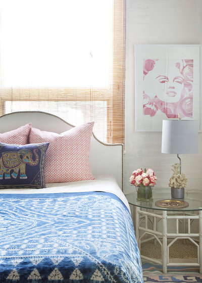 Beautiful Eclectic Bedroom by Design Manifest