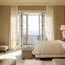 SF Hillside Retreat Master Bedroom