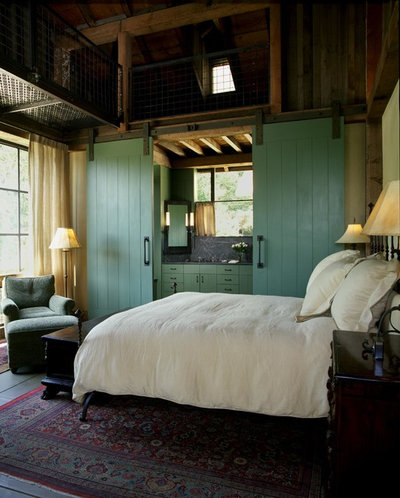 Country Bedroom by Lori Backen Interiors