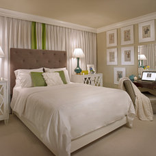 Contemporary Bedroom by Julie Couch Interiors