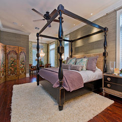 traditional bedroom by Jere Bradwell