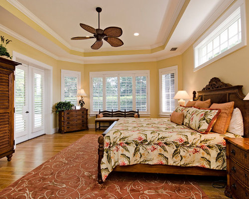 Tropical bedroom design ideas remodels photos with for Tropical bedroom design