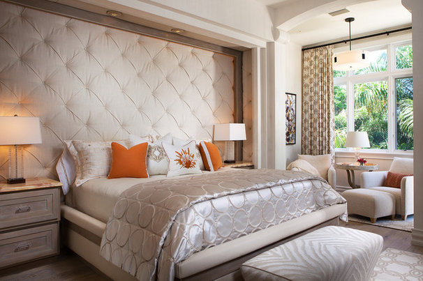 Contemporary Bedroom by Bruce Palmer Interior Design