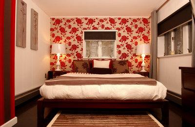 Eclectic Bedroom by Busybee Design