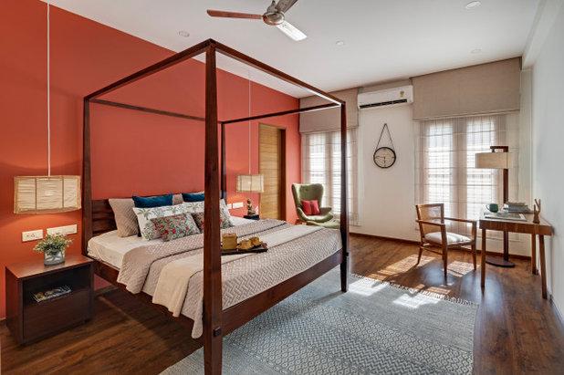 Asiatisch Schlafzimmer by Yellow Door Architects