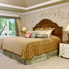 Traditional Bedroom by Gailani Designs Inc,