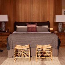 Asian Bedroom by Tim Clarke Design